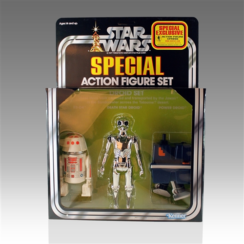 Droid 3-Pack AFX Exclusive Kenner Jumbo Figures