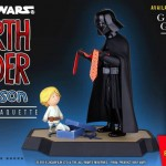 Des Statuettes Darth Vader Father par Gentle Giant