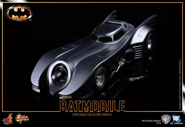 Hot Toys Batmobile 1989