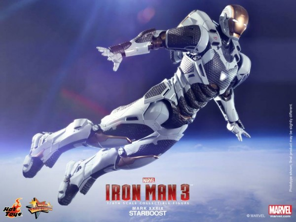 Iron Man  Starboost (Mark XXXIX) Collectible Figure 1
