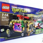 TMNT LEGO Set 79104 - La poursuite en Shellraiser - Shell yeah!
