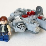 LEGO Microfighters 75030 – Micro review du Faucon Millenium