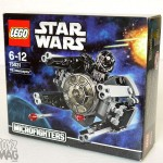 LEGO Microfighters 75031 - Micro review du TIE Interceptor