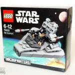 LEGO Microfighters 75033 - Micro review du Croiseur Interstellaire