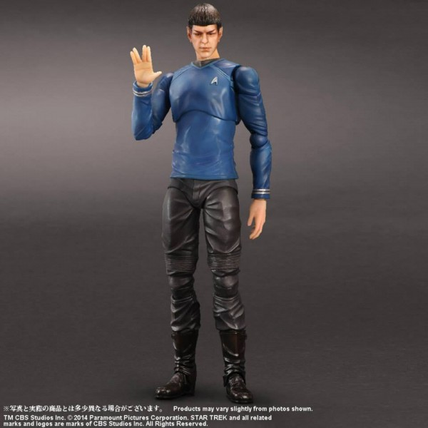 square enix Play arts Kai star Trek SPOCK