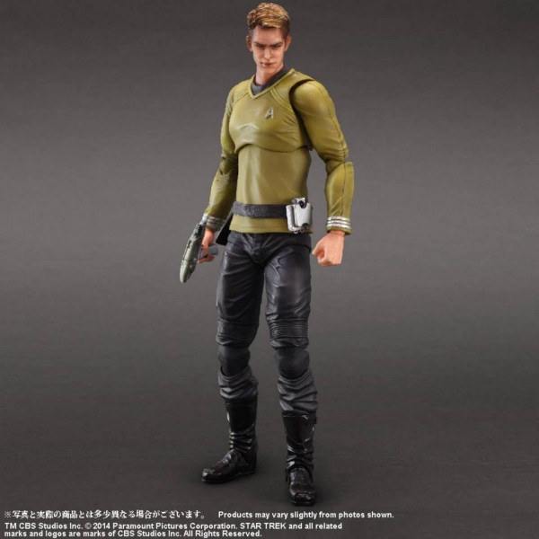 square enix Play arts Kai star Trek KIRK