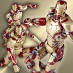 Review - Revoltech - SFX- Iron Man Mark 42