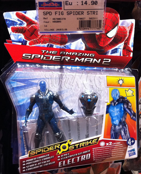The Amazinf Spider-Man 2 Spider Strike ELECTRO