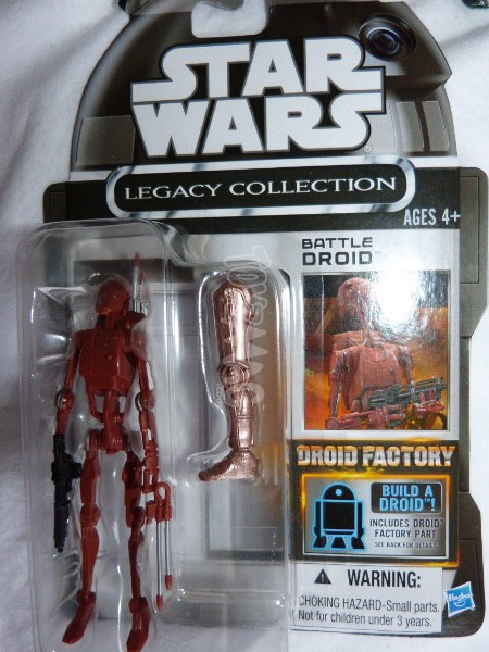 TLC BAD battle droid geonosis star wars 1