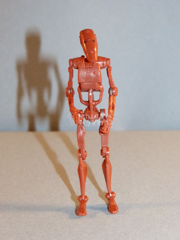 TLC BAD battle droid geonosis star wars 4