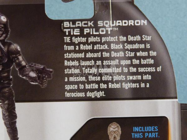 TLC tie pilot black squadron star wars 4