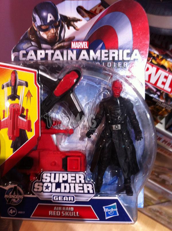 Crane Rouge Winter Soldier soldat de l'hivers CAPTAIN AMERICA