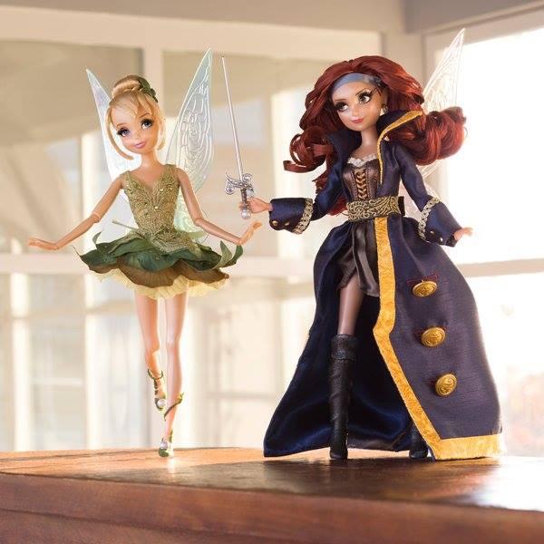 Edition Limitée de la collection Designer : Clochette et Zarina, la Fée Pirate
