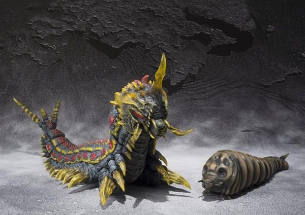 mothra & battra larva set tamashii shfiguarts 1