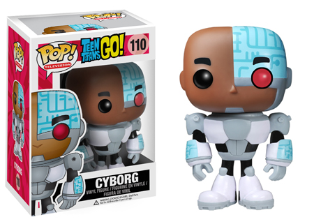 pop funko teen titan cyborg