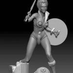 Statue Teela Filmation par Pop Culture Shock Collectibles, Inc