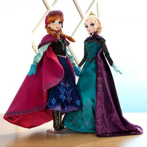 poupées La Rien des Neiges Elsa et Anna édition limitée
