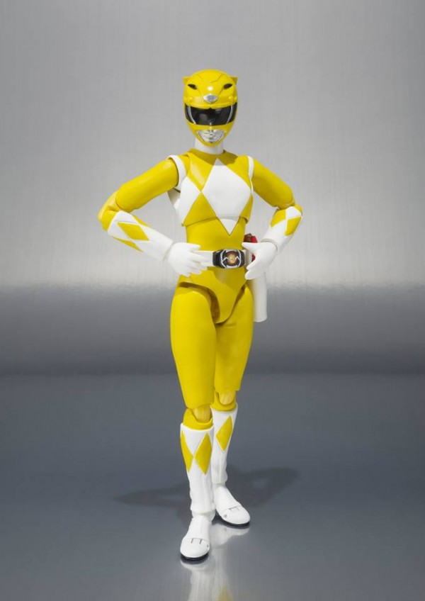 power rangers yellow tamashii sh figuarts 3