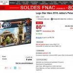 Bon Plan : Lego Star Wars le Palais de Jabba