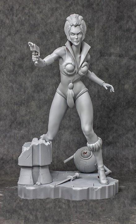 teela motu statue