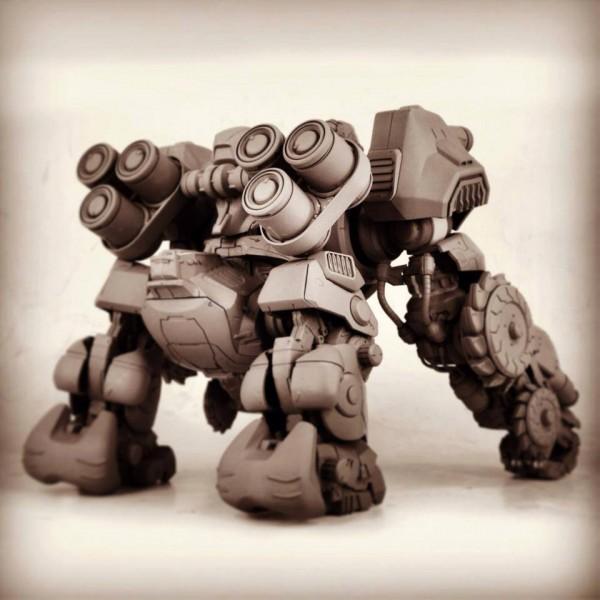 threezerox zoids iron kong proto 0
