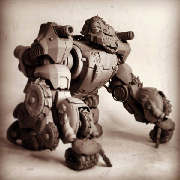 threezerox zoids iron kong proto