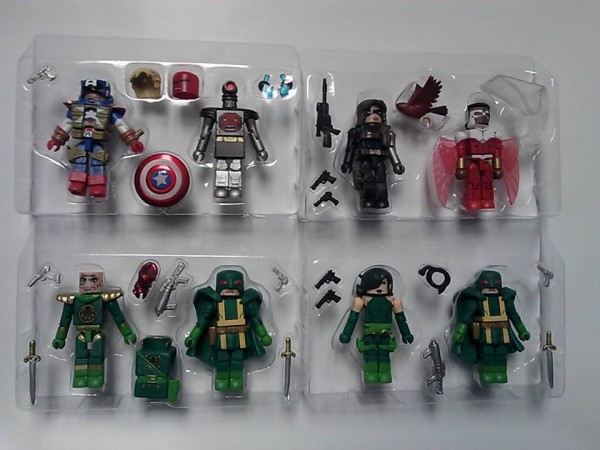 tray hosts marvel minimates series 54 cap