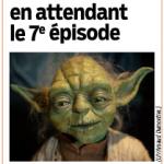 Dossier spécial Star Wars dans Le Parisien de vendredi