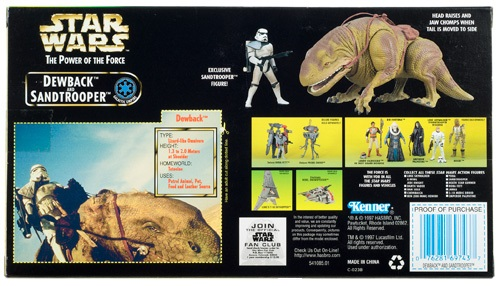 Dewback Back Box U.S