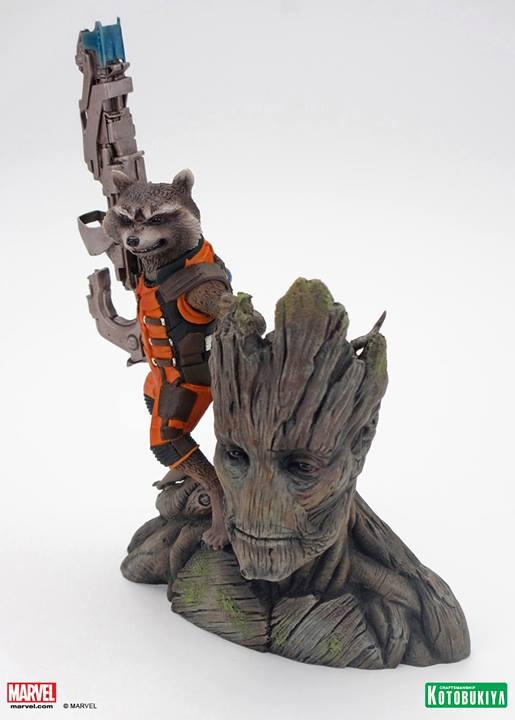 Guardians of the Galaxy Rocket Raccoon ARTFX+ Statue