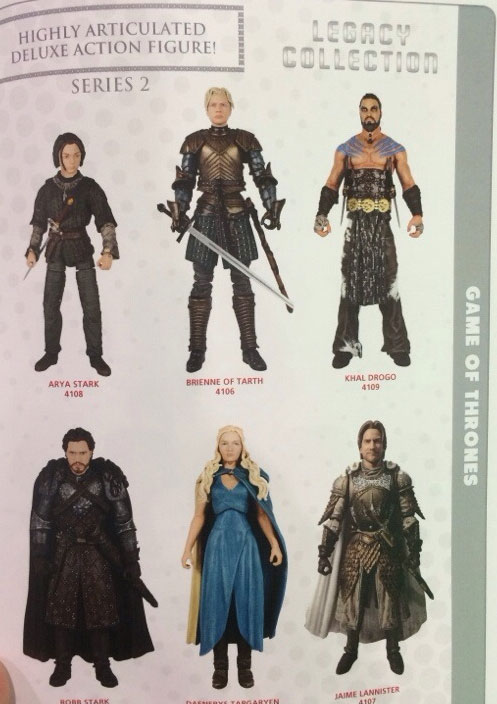 Game Of Thrones LEGACY wave2