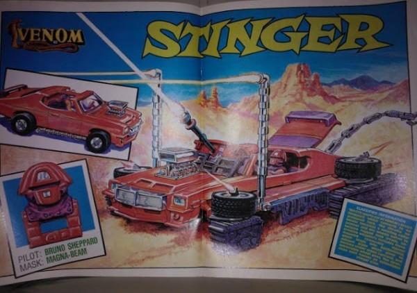 MASK Stinger Comics