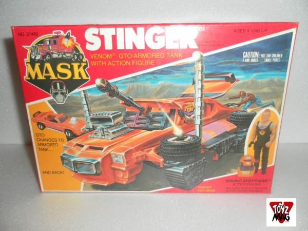 Instant Vintage : Stinger M.A.S.K (Kenner 1986)