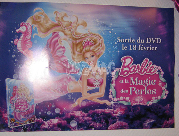 DVD barbie et la magie des perles
