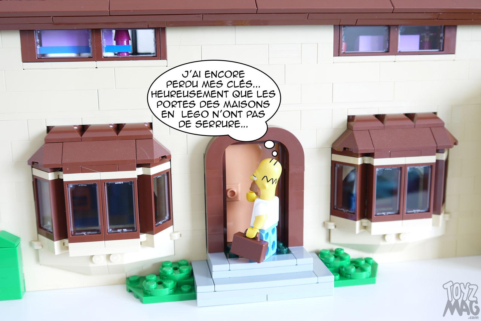 regard détaillé prix officiel taille 40 Rhooomer ! LEGO Set 71006 – La maison des Simpsons (2/3 ...