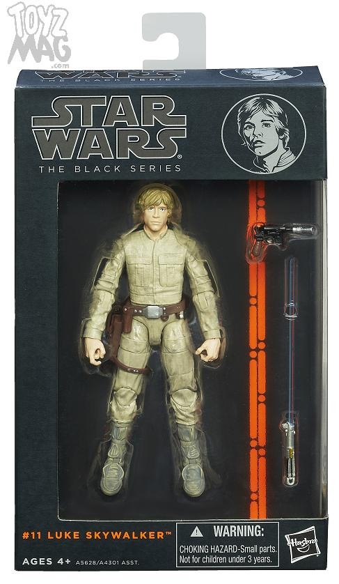 STAR WARS BLACKS SERIES 6-Inch LUKE SKYWALKER In Pack A5628