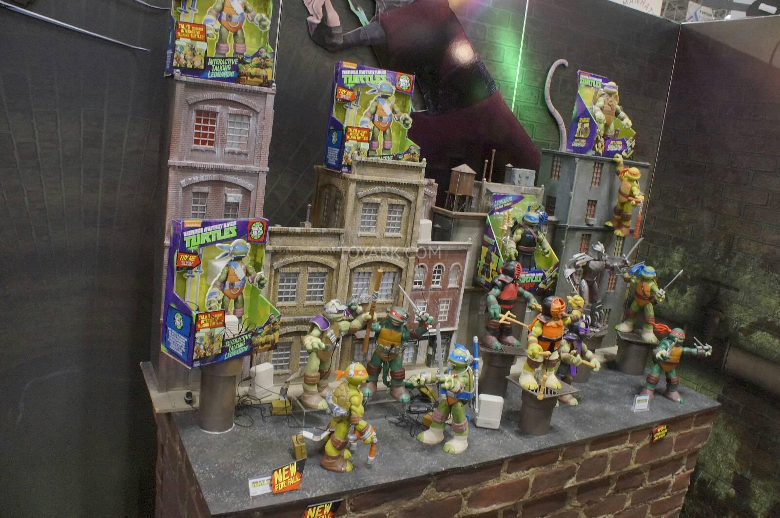 Des nouvelles figurines Tortues Ninja chez Playmates Toys  Japanim & Comics