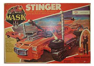 Mask Stinger Playful Argentine