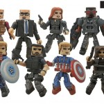 Captain America : The Winter Soldier - les jouets DST