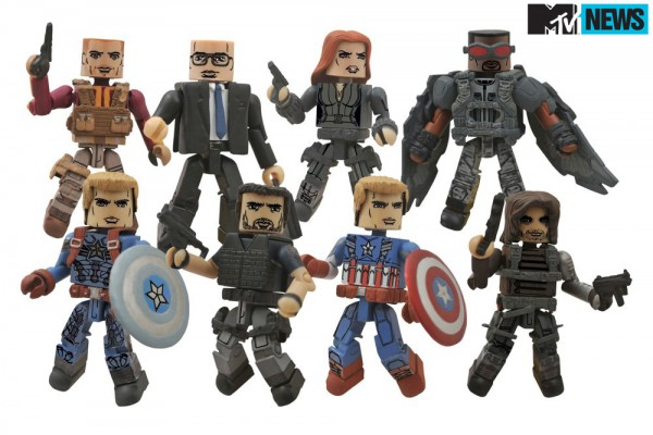 captain america winter soldier minimates