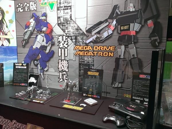 sega Transformers Megatron MEGADRIVE