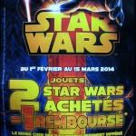 Bon Plan : Star Wars 1 jouet remboursé