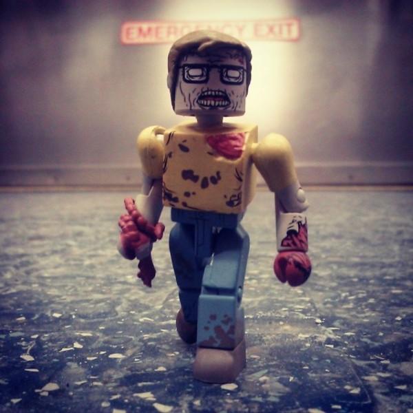 walking dead geek zombie