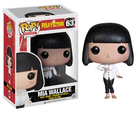MIa Wallace POP Pulp fiction