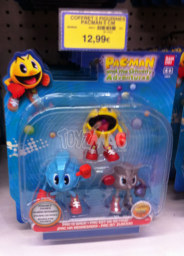 Figurines PAC MAN Bandai