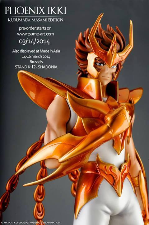 Phoenix Ikki Kurumada Masami Edition HQS TSUME ART