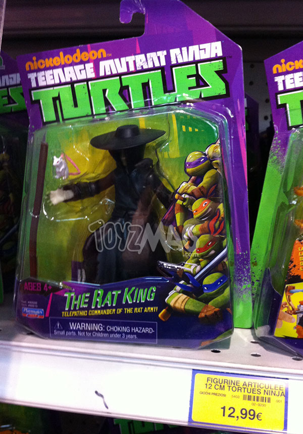 Tortues ninja LE Rat King