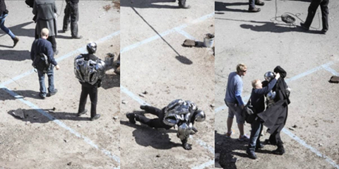 age of ultron tournage ultron avengers 2 marvel