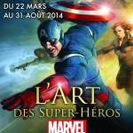 L'Art des Super-Héros MARVEL à voir à partir de demain