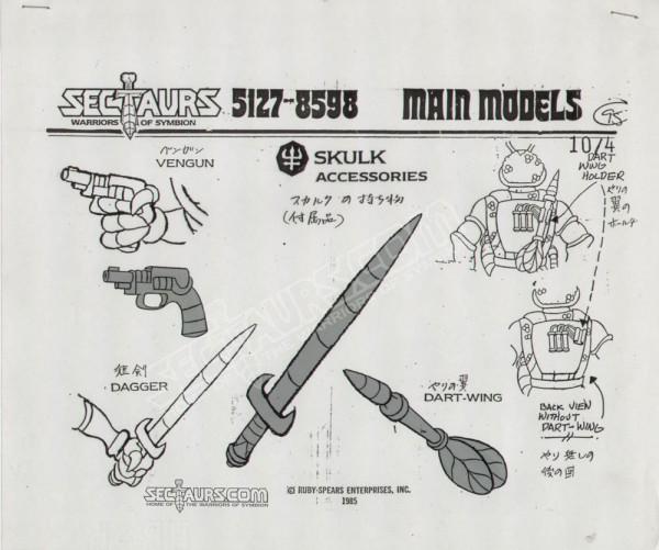 Skulk Model Sheet